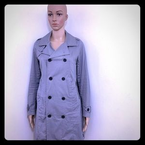 G Star Raw Trrench Coat Jacket Double Breasted XS